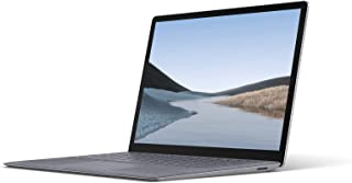 Microsoft 微软 Surface Laptop 3 超薄13.5 英寸触摸屏笔记本电脑(铂金) - 英特尔* 10 代四核 i7,16GB RAM,512GB SSD,Windows 10 家庭版,2019 版