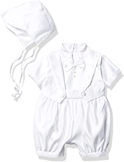 Joey Couture 婴儿男孩缎面睡衣套装