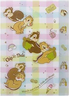 Sun-Star Stationery 迪士尼模切透明文件夹 Chip & Dile S2107015