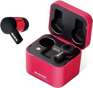 Elecom 宜丽客 蓝牙 耳机 完全无线 [支持6小时播放 Siri和Google辅助等语音辅助使用] FAST MUSIC 粉色