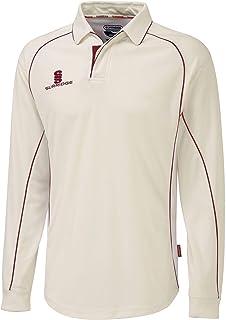 Surridge Sports 男式 L/s 板球衬衫,红色,尺码 2XL