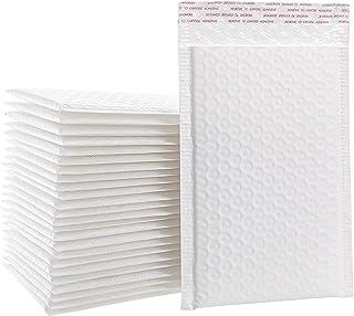 10.5x16 英寸(约 25.4 x 40.6 厘米)聚乙烯气泡袋填充信封 #5 自密封防水运输用品 家庭和办公室,白色 25 件装