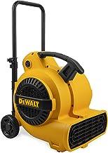 DEWALT 得偉 1800 CFM 3速空氣移動器,風扇,地板干燥器,18.916.320.3英寸,黃色