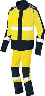 AITOZ 高辨识性雨衣 (男女通用) 四季通用 黄色×黑色 AZ56206 019 6L