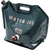 BUNDOK 折叠水壶 7升 BD-347 水袋 带厚度 带阀门 防灾 折叠 便携 轻量