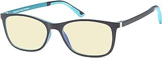 TRUST OPTICS 轻质抗有害蓝光紫外线照射*训练缓解电脑阅读游戏眼镜阅读器