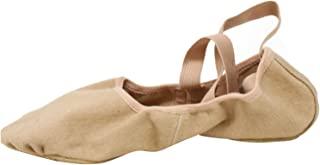 Bloch Dance 女式 Infinity 弹力帆布芭蕾舞鞋/鞋