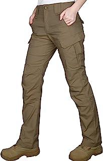 HARD LAND 女式机械弹力战术工装裤防水防撕裂 EMS BDU 裤轻便徒步