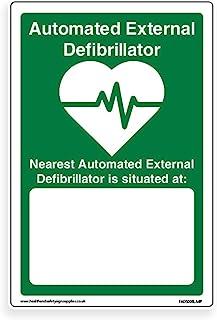 AED 位置:- 标准 [4mm 横板标牌,300mm x 400mm - A3]