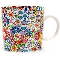 TAKASHI MURAKAMI Coffee Tea Mug Cup Flower Ohana kaikaikiki…
