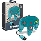 "Hyperkin ""Captain""高级控制器,适用于 N64 (绿松石) - Nintendo 64"