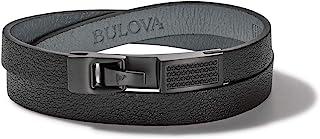 Bulova 男式拉丁格莱美缠绕手链