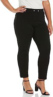 Rafaella 女式套穿 Ponte 裤,带接缝细节 - 舒适贴合