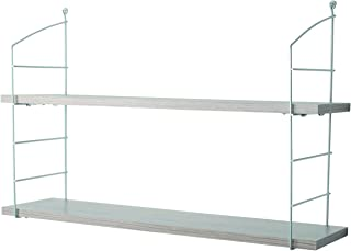 Element System Wire & Wood Retro 金属线架套装 带 2 个木层,橡木 松露。
