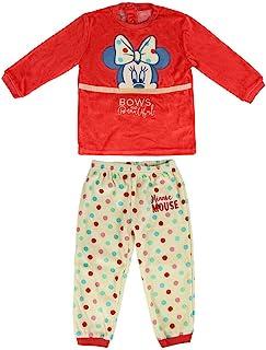 CERDA ARTESANIA 女婴 Pijama Largo Minnie 睡衣套装 红色 (Rojo C) 一件(尺码:12M)