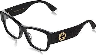 GUCCI 古驰 眼镜 伊达眼镜 0104OA 001 亚洲款 女款 0104OA-001 日本 58,15,145 (FREE サイズ) [平行进口商品]