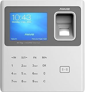 Anviz W1-ID 生物识别器 RFID 和针码 灰色