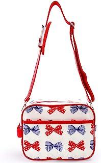 幼儿园包 单肩包 幼儿园包 托儿所包 波尔卡圆点和条纹的法式蝴蝶结(象牙色) N0529500