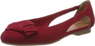 Tamaris 女式 1-1-22106-24 Leder 闭趾芭蕾平底鞋