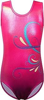 BAOHULU 女孩体操紧身连衣裤连体服 3-14 年练习套装