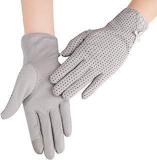男士夏季驾驶手套棉防滑触摸屏防紫外线*手套适用于骑自行车露营