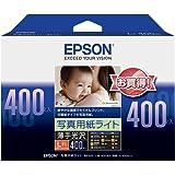 EPSON 照片用纸光[薄光] 样板I L判400枚
