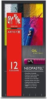 Caran D'ache - Neopastel 艺术家油画蜡笔 - 一套 12 件 (7400.312)