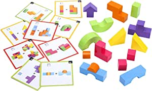 Learning Resources Mental Blox 360度3D搭建游戏积木