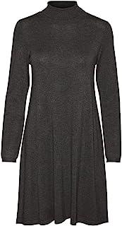 VERO MODA 女士 Vmglory Ls 高领连衣裙 彩色连衣裙