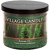 Village Candle Balsam Fir 48ml 玻璃碗香味蜡烛 绿色 106014383