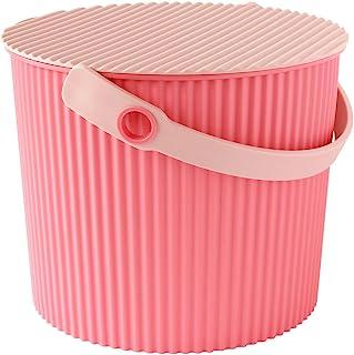 八幡化成 带盖水桶 way-be Fraichair Bucket(水壶椅篮) S 8L 粉色 43212-4674