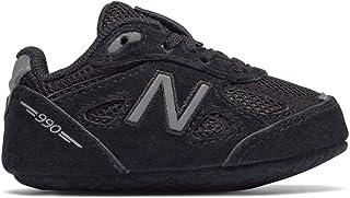 New Balance 男童 KJ990BSC,Black/BLAC,1 Medium US Infant