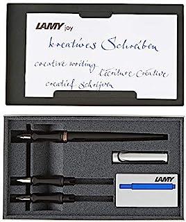 Lamy 凌美 书法美术钢笔 书法 Joy套装 18cmx1.2cm L11SET黑色
