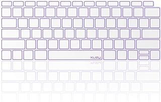 Kuzy - MacBook Air 键盘保护套,13 英寸 2019 2018 新款 A1932 带触摸 ID 和 Retina 显示屏优质超薄 TPU 保护皮肤保护膜 MacBook Air Keyboard Cover, A1932