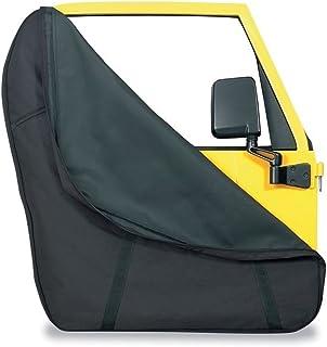 Bestop 5166601 黑色全钢门储物夹克 适用于 1976-2018 CJ7 & Wrangler JK 2DR & 4DR