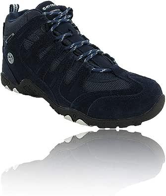 Hi-Tec 女士 Quadra Mid WP 高腰徒步靴
