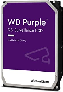 Western Digital HDD 8TB WD Purple 监控系统 3.5英寸 内置HDD WD82PURZ-EC