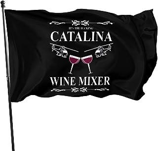 Others Catalina 葡萄酒混合器家居装饰旗帜 3x5 英尺