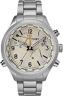 Timex 天美时 Waterbury 石英机芯奶油表盘男式手表 TW2R43400