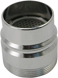Keeney PP28003 Snap 安装双螺纹水龙头适配器,镀铬