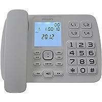 PHILIPS 飞利浦 CORD168 来电显示语音报号电话机(白色)