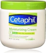 Cetaphil 絲塔芙 保濕霜 適用于非常干燥/敏感的皮膚,無香料,16盎司/453克(3件)