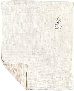 10mois [10mois-Hoppetta] guri 方巾纱布(6层纱布) 毯子(婴儿尺寸) 20211002