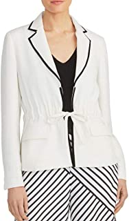 RACHEL ROY 女式 Allessandra 抽绳内衬西装外套上衣
