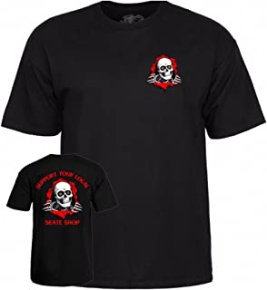 Powell-Peralta Support Your Local Skate Shop - 黑色中号 T 恤