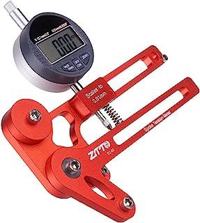Riiai 红色 MTB 自行车电子张力计 山地公路自行车车轮辐条检查器 高精度指示器 精确稳定
