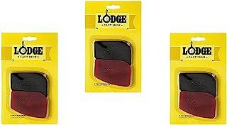 Lodge 聚碳酸酯红色和黑色平底锅刮刀,6 件套