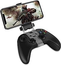 TNP 手机夹支架兼容 Xbox One S X 无线控制器,可折叠夹具支架,适用于 iPhone 11 Pro Max、11 Pro、11、Xs Max、Xs、X、8 Plus、7、Android 手机、Samsung LG & box 配件]