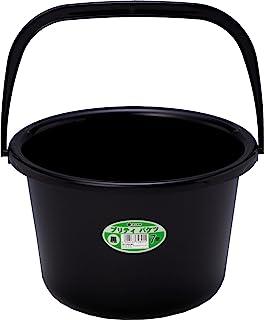 和泉化成 塑料水桶・清扫道具 普丽蒂巴克斯7型 黑色 7289BK