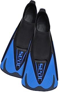 SEAC 男士 Speed-S 短泳鳍,用于游泳池和开放水域训练